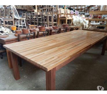 Fotos de Mesa de eucaliptus 120 x 3 ideal quincho