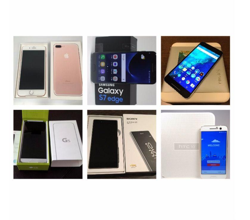 Fotos de iPhone 7 Plus-Samsung S7 Edge-Nexus 6P-LG G5-Sony Z5 Premium
