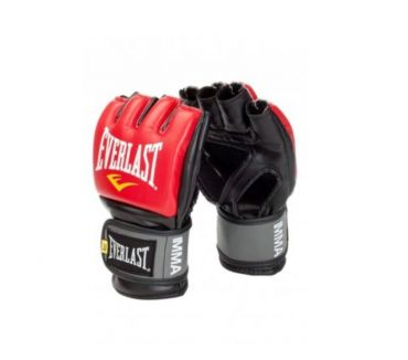 Fotos de GUANTES EVERLAST MMA PRO STYLE GRAPPLING GLOVES RED LXL
