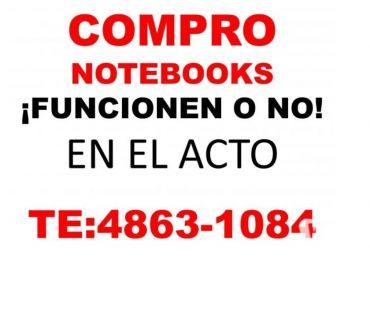 Fotos de COMPRO NOTEBOOKS Y NETBOOKS FUNCIONEN O NO TE:4863-1084'