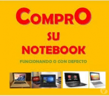 Fotos de COMPRO NOTEBOOKS ROTAS O NO Te: 4863-1084