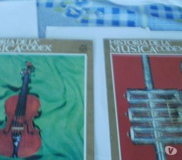 Fotos de Historia de la Musica. Ed. Codex 1966