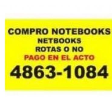 Fotos de HOY PAGO MAS EN EL ACTO NOTEBOOKS Te:4863-1084