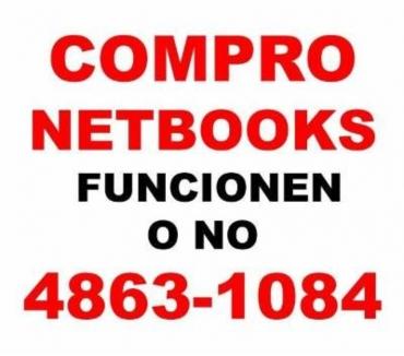 Fotos de COMPRO NETBOOKS ROTAS O NO Te: 4863-1084