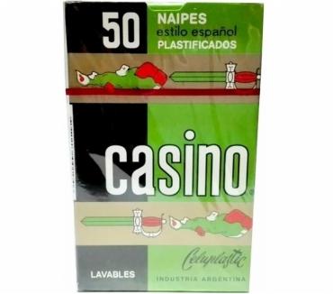 Fotos de NAIPES CASINO ESTILO ESPAÑOL 50 CARTAS PLASTIFICADAS ORIGINA