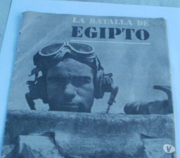Fotos de Revista la Battalla de Egipto.