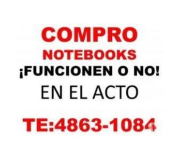 Fotos de Compro notebooks netbooks funcionen o no TE:4863-1084