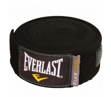 Fotos de VENDAS PARA BOXEO EVERLAST FLEXCOOL HANDWRAPS 180 BLACK