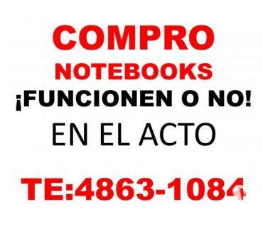 Fotos de ahora COMPRO NOTEBOOKS Y NETBOOKS FUNCIONEN O NO 4863-1084