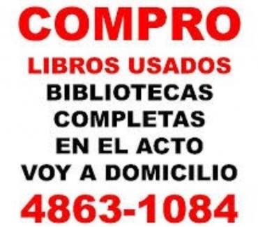 Fotos de COMPRO LIBROS USADOS VOY A DOMICILIO Te. 4863-1084