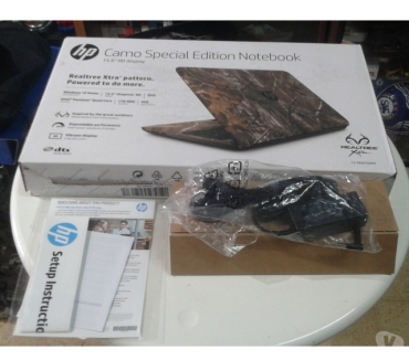 Fotos de Notebook HP 15ay070wm 15.6 Realtree Xtra Camo Laptop Nueva