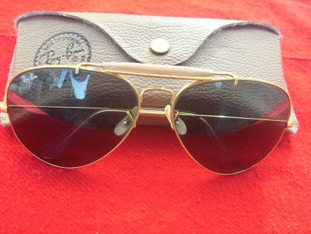Fotos de ANTEOJOS RAY BAN AVIATOR THE GENERAL ORO 1937-1987 B&L USA