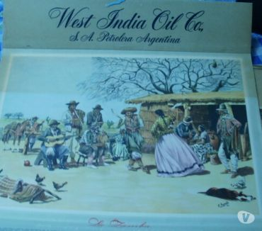Fotos de Almanaque Ewst Indian Oil Company 1946.