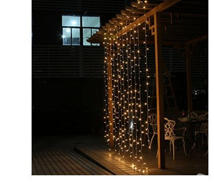 Fotos de Cortina Led 4.5 M x 3 M 300 Led interior exterior decoracio