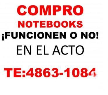 Fotos de EN EL ACTO COMPRO NOTEBOOKS Y NETBOOKS TE:4863-1084