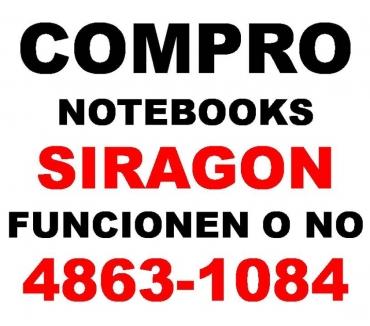 Fotos de HOY COMPRO NOTEBOOKS SIRAGON ROTAS O NO Te: 4863-1084