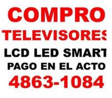 Fotos de COMPRO TELEVISORES LCD LED FUNCIONANDO UNICAMENTTE:4863-1084