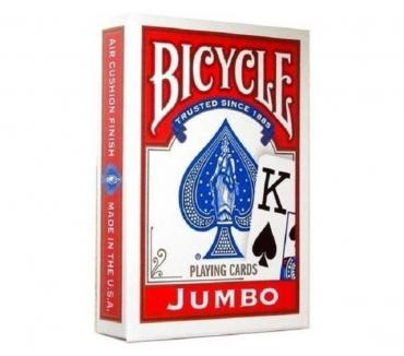 Fotos de NAIPES PARA POKER BICYCLE JUMBO INDEX PLAYING CARDS ROJOS