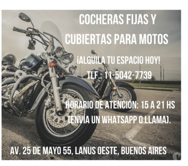 Fotos de GUARDERIA PARA MOTOS