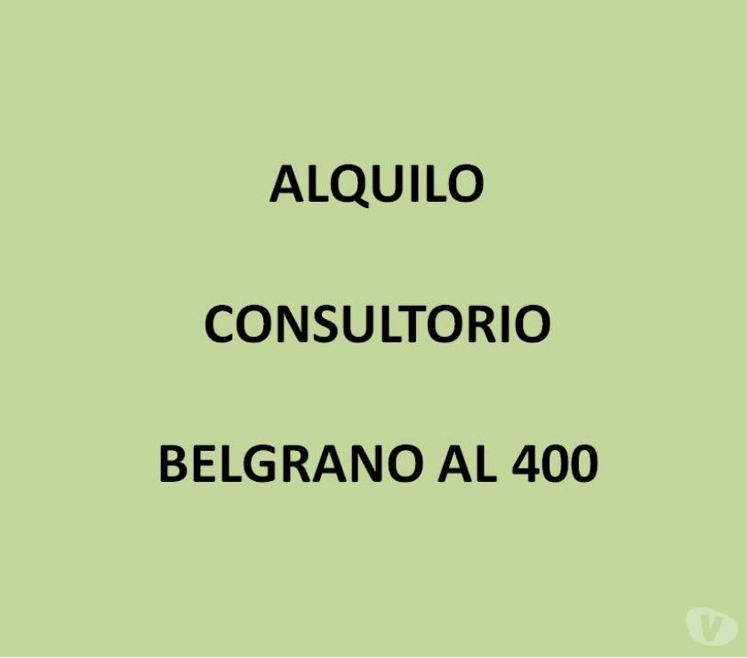 Consultorios en Alquiler Bahía Blanca - Fotos de ALQUILO CONSULTORIO MEDICO