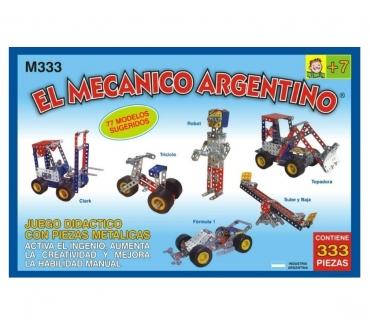 Fotos de EL MECÁNICO ARGENTINO M333 T MECANO PARA ARMAR CON 333 PZS