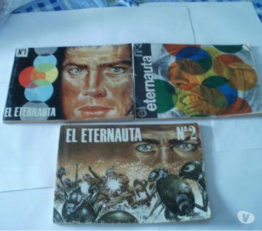 Fotos de Revista El Eternauta. Hector G. OesterheldSolano Lopez.