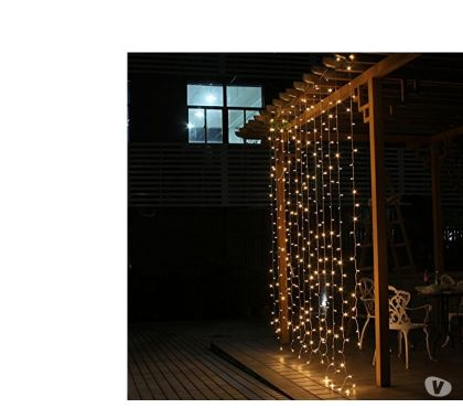 Fotos de Cortina Led 4.5 M x 3 M 300 Led decoracion interior exterior