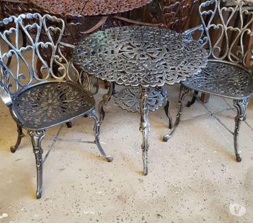 Fotos de Juego de jardin Boston mesa con 2 sillones