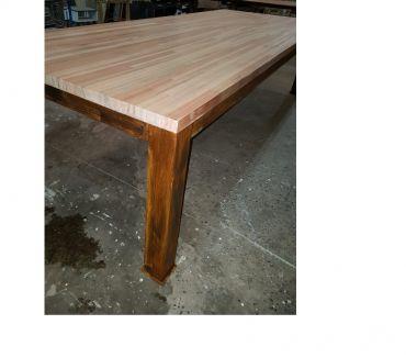 Fotos de Mesa para exterior hierro madera 120 x 3
