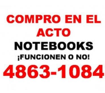 Fotos de COMPRO NOTEBOOKS ROTAS O NO Te: 4863-1084