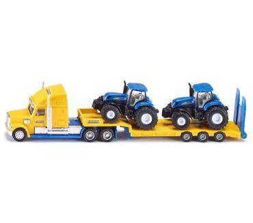 Fotos de SIKU Camión Con 2 Tractores New Holland E 1:87 Modelo 1805 S