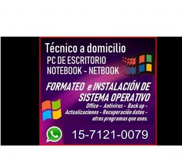 Fotos de TECNICO DE PC Y NOTEBOOKS A DOMICILIO EN PALERMO