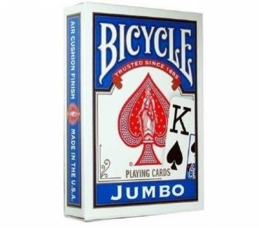 Fotos de NAIPES PARA POKER BICYCLE JUMBO INDEX PLAYING CARDS AZULES