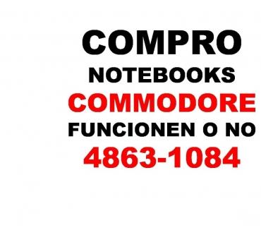 Fotos de HOY COMPRO NOTEBOOKS COMMODORE ROTAS O NO Te: 4863-1084