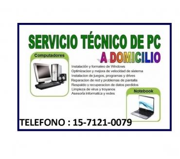 Fotos de TECNICO DE PC Y NOTEBOOKS A DOMICILIO EN ONCE