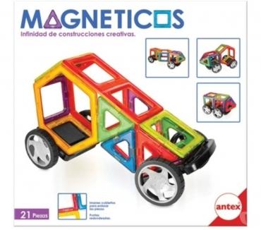 Fotos de MAGNÉTICOS SET DE CONSTRUCCIONES CREATIVAS 21 PIEZAS ANTEX A