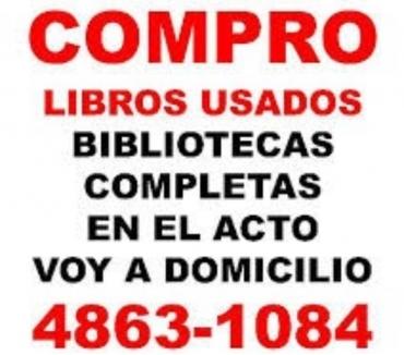 Fotos de COMPRO LIBROS USADOS RETIRO EN EL ACTO Te: 4863-1084