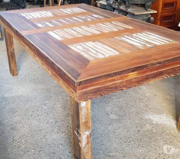 Fotos de Mesa madera recicladas 120 x 220 ideal quincho