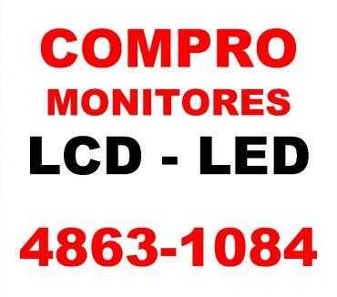 Fotos de COMPRO MONITORES LCD FUNCIONANDO UNICAMENTE TE:4863-1084