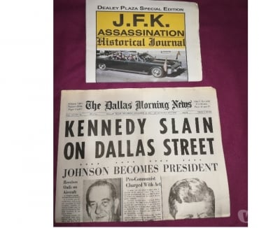 Fotos de venta del diario dealey plaza special edition DIARIO EPOCA