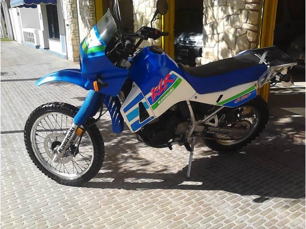 Kawasaki Klr 650 Impecable Como 0 Km En Bah A Blanca