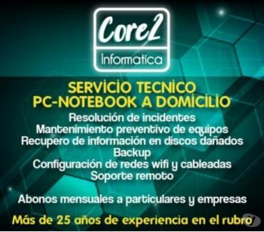 Fotos de Servicio técnico PC - Notebook a domicilio