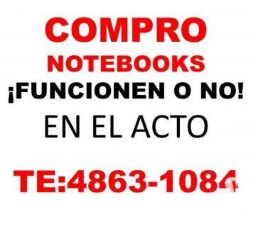 Fotos de COMPRO NOTEBOOKS Y NETBOOKS FUNCIONEN O NO TE:4863-1084