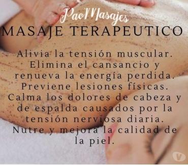 Fotos de masajes descontracturantes, relajantes, reflexologia