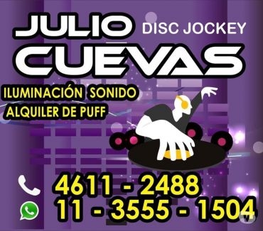 Fotos de disc jockey zona norte,sur,oeste capital federal