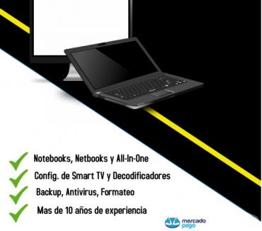 Fotos de REPARACION DE PC Y Configuracion de tv a domicilio