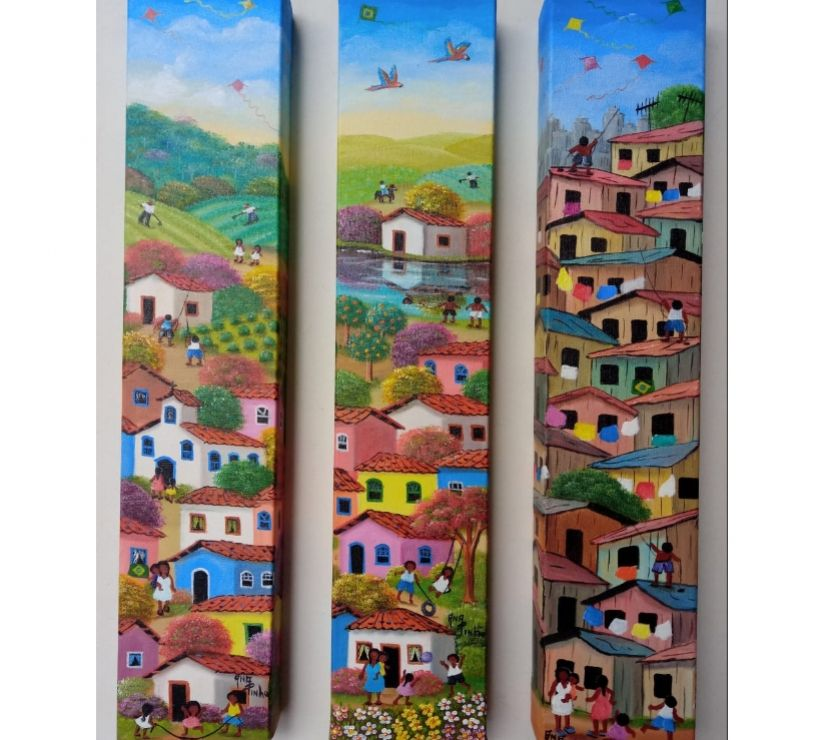 Artesanato Sao Paulo SP Sé, São Paulo - Fotos para LINDAS TELAS DE ANA PINHO ARTISTA NAIF