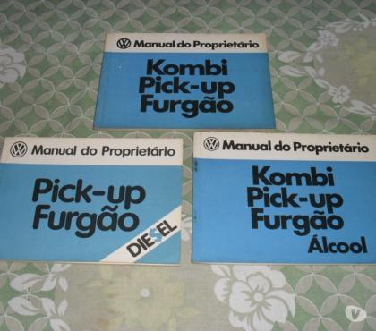 Fotos para Kombi - Manual Proprietario Em Branco todos Modelos