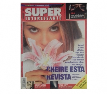 Fotos para Revista Super Interessante capa Islã e nariz artificial 1997