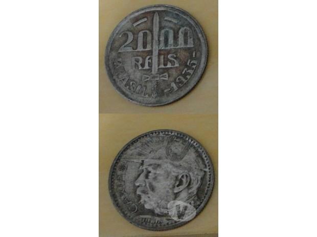 Colecionadores Criciuma SC - Fotos para Moeda de 2000 Réis 1935 Caxias,Reverso Invertido!